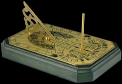 astrolabe, compass, sextant Analemmatic Hémisferium