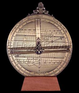 astrolabe, compass, sextant Rojas' astrolabe 20 Ø Hémisferium