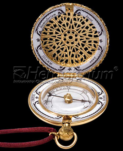 astrolabe, compass, sextant Brass Pocket Compass Hémisferium