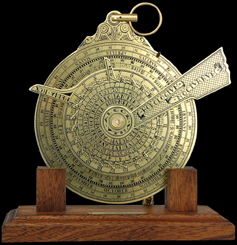 astrolabe, boussole, sextant Nocturlabe Hémisferium Quirao idées cadeaux