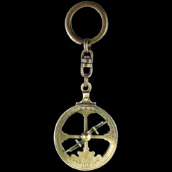 astrolabe, compass, sextant Porte clefs astrolabe nautique Hmisferium