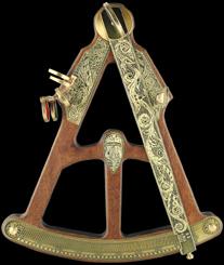astrolabe, compass, sextant Sextant Hémisferium
