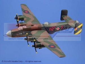 maquette d'avion Halifax Bomber Aircraft Models Quirao idées cadeaux