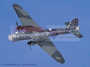 maquette d'avion Heinkel He 177A Greif Aircraft Models Quirao idées cadeaux