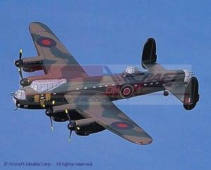 maquette d'avion Avro Lancaster (RAF) Aircraft Models Quirao idées cadeaux
