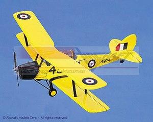 maquette d'avion De Havilland DH82 Tiger Moth Aircraft Models Quirao idées cadeaux