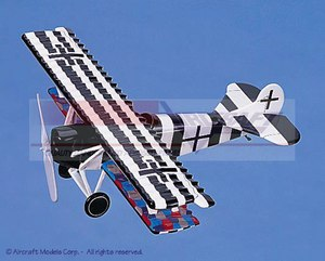 maquette d'avion Fokker D VII Aircraft Models Quirao idées cadeaux