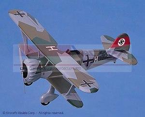 maquette d'avion Henschel Hs 123 Aircraft Models Quirao idées cadeaux