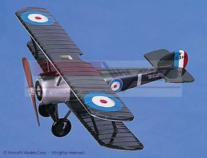 maquette d'avion Sopwith F1 Camel 32 cm Aircraft Models Quirao idées cadeaux