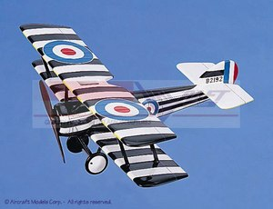 maquette d'avion Sopwith Pup White-Black-Yellow Aircraft Models Quirao idées cadeaux