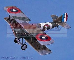 maquette d'avion SPAD XIII Rooster Aircraft Models Quirao idées cadeaux