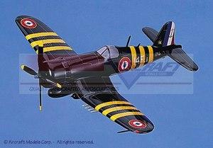 maquette d'avion Vought F4U-4 Corsair (French Navy) Aircraft Models Quirao idées cadeaux