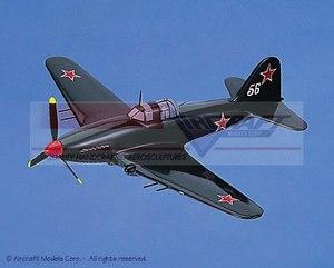 maquette d'avion Ilyushin Il-M3 Sturmovic Aircraft Models Quirao idées cadeaux