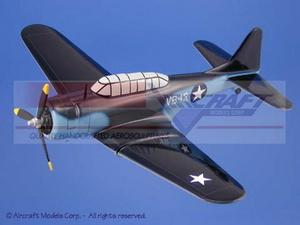 maquette d'avion Douglas SBD Dauntless Blue-White Aircraft Models Quirao idées cadeaux
