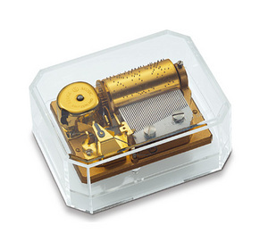 Reuge music box Thirty-Six paperweight Reuge