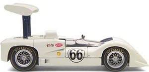 miniature car Chaparral 2E  #66 Jim Hall 1966 Exoto