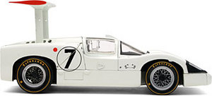 miniature de voiture Chaparral 2F  #7  Le Mans 1967 (RLG18174) Exoto Quirao idées cadeaux