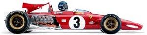 miniature de voiture Ferrari 312B  #3 J Ickx 1970 (Exoto 97063) Exoto Quirao idées cadeaux