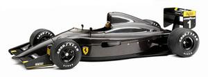 miniature de voiture Ferrari 641 2 Carbon Fiber 1990 Noire (GPC97107) Exoto Quirao idées cadeaux