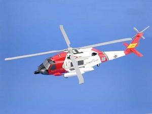 maquette d'helicoptère Sikorsky HH-60 Jayhawk (Coast Guard) Aircraft Models Quirao idées cadeaux