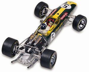 miniature de voiture Lotus Ford 49  #5 G Hill 1968 (GPC97003) Exoto Quirao idées cadeaux
