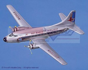 maquette d'avion Martin 404 Fly-Eastern Airlines Aircraft Models Quirao idées cadeaux