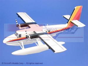 maquette d'avion De Havilland Canada Twin Otter  Floats Aircraft Models Quirao idées cadeaux