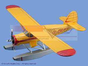 maquette d'avion Noorduyn Norseman Mk VI Aircraft Models Quirao idées cadeaux
