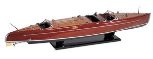maquette de bateau, voilier, runabout Typhoon 90 cm Azimute Quirao idées cadeaux