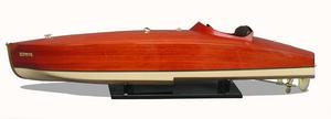maquette de bateau, voilier, runabout Zephyr 90 cm Azimute Quirao idées cadeaux