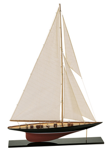 maquette de bateau, voilier, runabout Shamrock V Azimute Quirao idées cadeaux