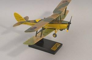 maquette d'avion De Havilland Tigermoth MK II  Quirao idées cadeaux