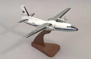 maquette d'avion Fokker 27F-BPNH Air Inter  Quirao idées cadeaux