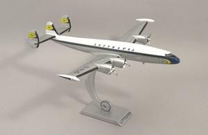 maquette d'avion Super Constellation Lufthansa  Quirao idées cadeaux
