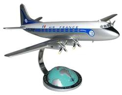 maquette d'avion Vickers Viscount Air France  Quirao idées cadeaux