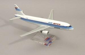 maquette d'avion Maquette de l'A320-200 d'Air Inter  Quirao idées cadeaux