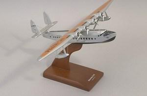 maquette d'avion Pan American Airways Sikorsky S-42  Quirao idées cadeaux