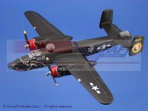 maquette d'avion North American B-25 Mitchell Bats Delta Hell Aircraft Models Quirao idées cadeaux