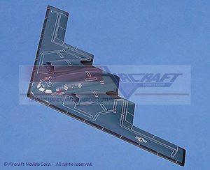 maquette d'avion Northrop B-2 Stealth Bomber Aircraft Models Quirao idées cadeaux