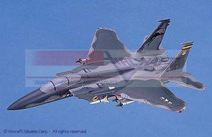 maquette d'avion McDonnell Douglas F-15C Eagle (USAF) Gray Camou Aircraft Models Quirao idées cadeaux