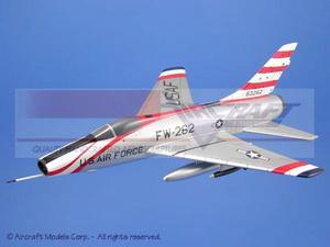 maquette d'avion North American F-100 Super Sabre (USAF) Aircraft Models Quirao idées cadeaux