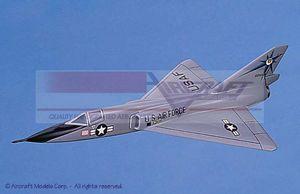 maquette d'avion Convair F-106 Delta Dart (USAF) Aircraft Models Quirao idées cadeaux