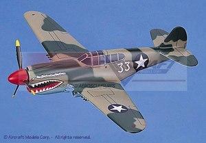 maquette d'avion Curtiss P-40N Warhawk Aircraft Models Quirao idées cadeaux