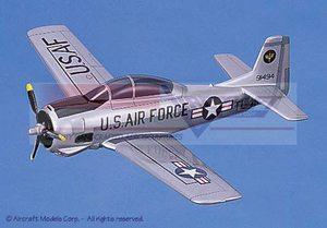 maquette d'avion North American T-28 Trojan (USAF) Aircraft Models Quirao idées cadeaux