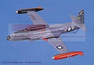 maquette d'avion Lockheed T-33 Shooting Star (USAF) Aircraft Models Quirao idées cadeaux