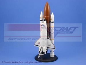 véhicule spatial Space Shuttle Atlantis - 42 cm Aircraft Models Quirao idées cadeaux
