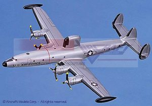 maquette d'avion Lockheed EC-121 Warning Star (USAF) Aircraft Models Quirao idées cadeaux
