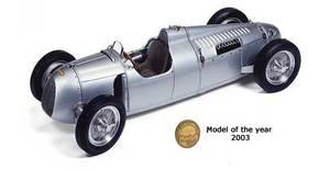 miniature de voiture Auto-Union Type C 1939 (1:18e) CMC Modelcars Quirao idées cadeaux