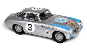 miniature de voiture Mercedes-Benz 300 SL Panamerican H Lang 1952 (1:18e) CMC Modelcars Quirao idées cadeaux