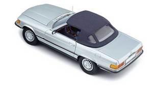 miniature de voiture Mercedes Benz 450 SL Version Européenne fermée (1:18e) CMC Modelcars Quirao idées cadeaux